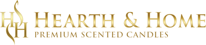 Hearth & Home Candle Company Logo